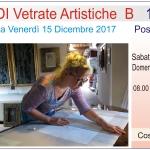 Corso di vetrate artistiche, formula weekend, sabato e domenica