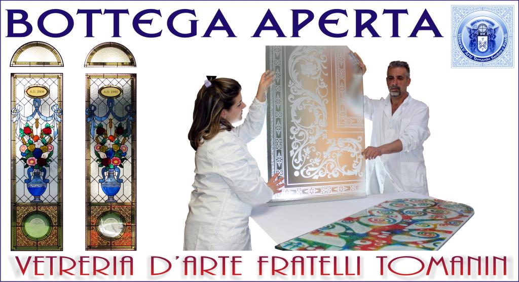 Domenica 20 maggio dalle ore 15:00 la Vetreria d'Arte apre le sue porte!