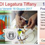 Corso 1 di LEGATURA TIFFANY